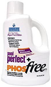 Natural Chemistry 5131 Pool Perfect Concentrate and Phos Free Pool Cleaner, 3-Liter