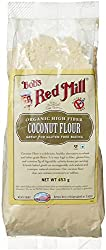 Bobs Red Mills Organic High Fiber Coconut Flour, 453g