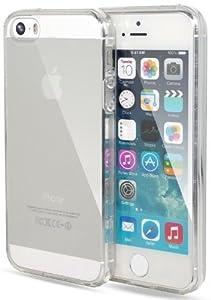 itronik iPhone 5 5S TPU Hülle Schutzhülle Crystal Case Durchsichtig Klar Silikon transparent