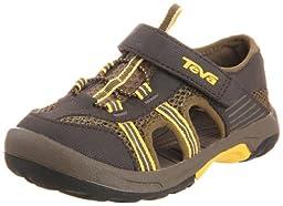 Teva Omnium Water Shoe (Infant/Toddler),Dark Olive,4 M US Toddler