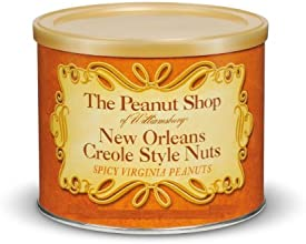 The Peanut Shop of Williamsburg New Orleans Creole Style Nuts 32 Oz