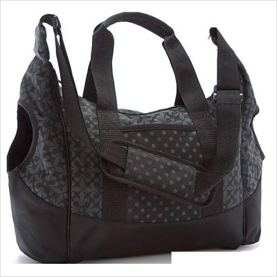 Summer Infant City Tote Diaper Bag, Black
