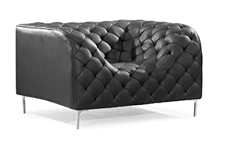 Zuo Providence Armchair, Black