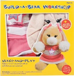 Build A Bear KitTan Swirl Bunny Cheerleader by Colorbok (Bunny Build A Bear compare prices)