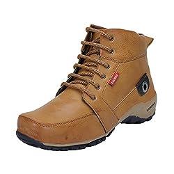 Bachini Men's 1509-Tan Boots - 7 UK