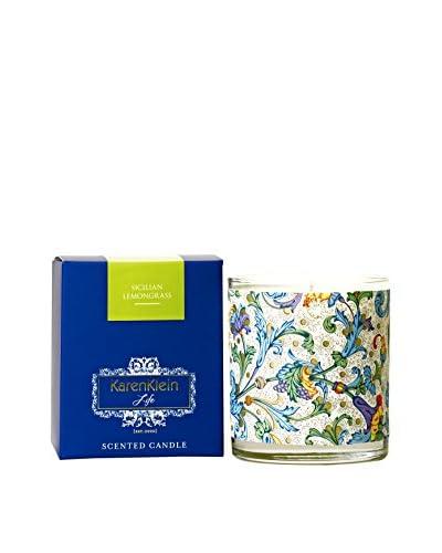 Karen Klein Life Florentine 10.25-Oz. Candle, Sicilian Lemongrass
