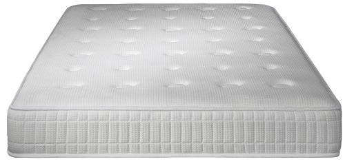 Simmons A433140190 Monte-Carlo Matelas Blanc 190 x 140 x 24 cm