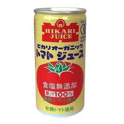 オーガニックトマトジュース食塩無添加 190g×30缶