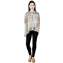Isadora Women's Floral Print Casual Shirt