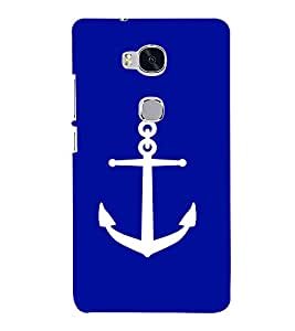 printtech Ship Anchor Back Case Cover for Huawei Honor 5X :: Huawei Honor X5 :: Huawei GR5