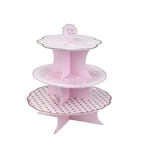 Talking Tables PK-CAKESTAND Pink 'n Mix Tea Party Cake Stand (Pink Cake Mix compare prices)