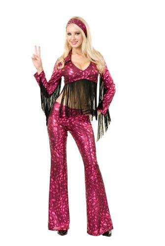 Womens MED (8-10)- Haight Ashbury Honey Costume