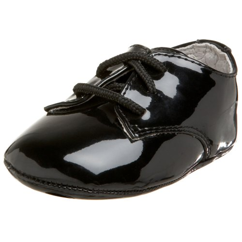 Designer's Touch 4169 Eric Dress Oxford (Infant/Toddler),Black,2 M US Infant