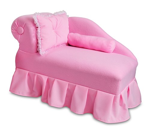 picture Fantasy Furniture Princess Chaise, Pink