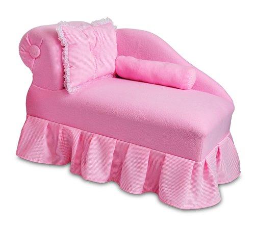 Fantasy Furniture Princess Chaise, Pink