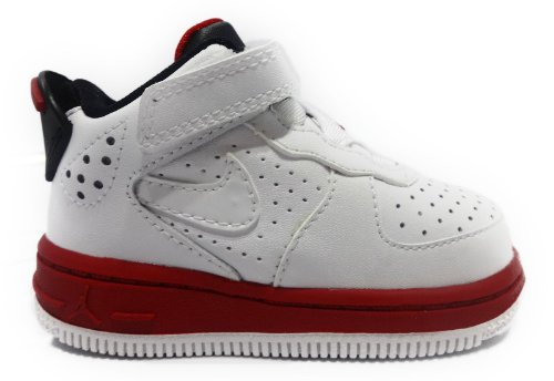 Nike Air Jordan Flight 6 Toddlers Size 4.5 (White / Varsity Red / Black) 343098-102 front-1052157