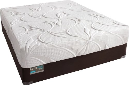Simmons - Comforpedic Advanced Rest Luxury Firm Memory Foam Queen Size Mattress And Box Spring Set
