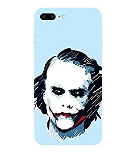 Evaluze joker why so hero Printed Back Cover for APPLE IPHONE 7 PLUS