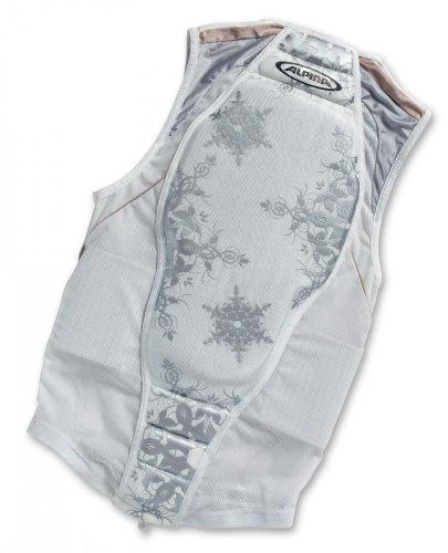 Original Alpina Jacket Soft Protector Rückenprotektor white/prosecco, Größe:173 - 178