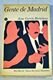 img - for Gente de Madrid; Relatos (Nueva Narrativa Hisp nica) book / textbook / text book