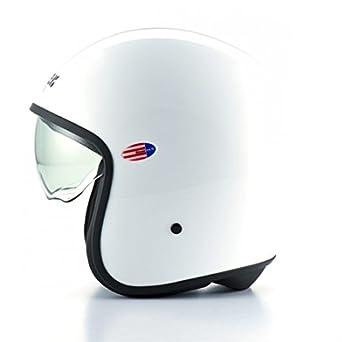 BLCJ110S - Casque Blauer Pilot Blanc Brillant Uni S