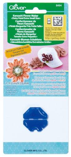 Clover 8494 Kanzashi Flower Maker Daisy Petal Quilt Pattern, X-Small