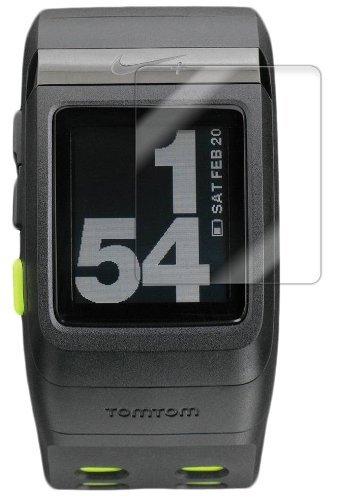 Nike+ SportsWatch GPS Screen Protector, Skinomi® TechSkin (6-Pack) Full Coverage Screen Protector for Nike+ SportsWatch GPS Clear HD Anti-Bubble Fil