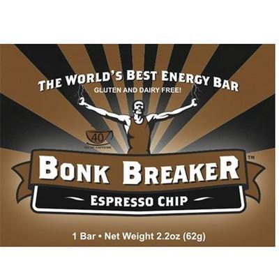 Bonk Breaker Energy Bars - Box of 12 (Espresso Chip) (Bonk Breakers Espresso Chip compare prices)