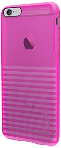 iPhone 6S Plus Case, Incipio Rival Case [Textured] Bumper Cover fits iPhone 6 Plus, iPhone 6S Plus - Translucent Neon Pink (Incipio Rival Phone Case compare prices)