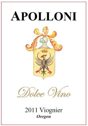 2011 Apolloni Dolce Vino Viognier 375 Ml