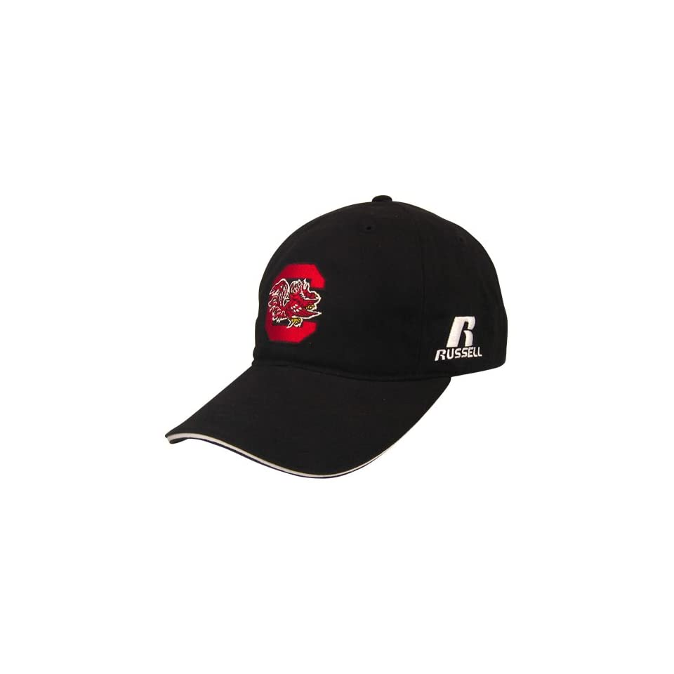 Russell South Carolina Gamecocks Black Coaches Sideline Progression Hat