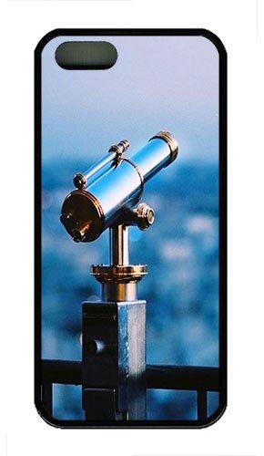 Iphone 5S Case,Astronomical Telescope Tpu Custom Iphone 5/5S Case Cover Black