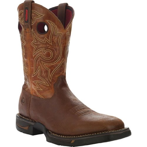 "Rocky Men'S 12"" Long Range - Square Toe Western Boot-8075 (M12)"