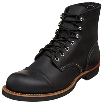 Red Wing Men s 8114 6 Iron Ranger Boot Black Harness 9 D US B002YTH8X2 NewSandalShoes com from newsandalshoes.com