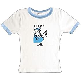 Monopoly Go To Jail Youth T-shirt!