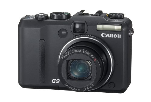 Canon PowerShot G9 is one of the Best Compact Point and Shoot Digital Cameras for Travel Photos Under $750