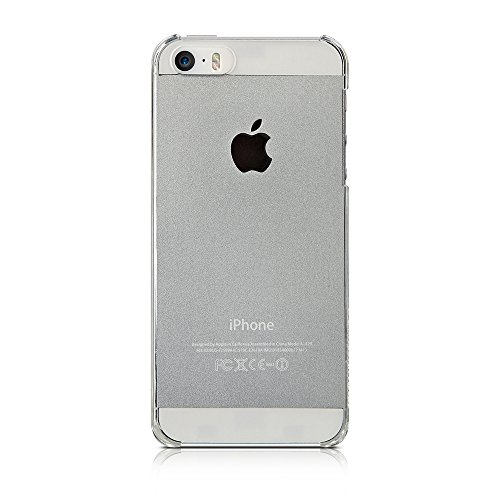 Simplism iPhone SE/5s/5 [Airly] 超極薄ハードケース クリア TR-CCIP16E-CL
