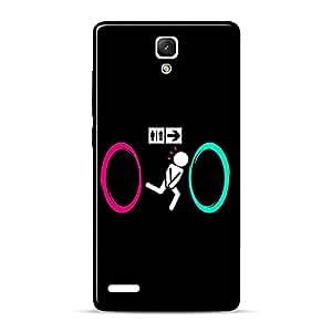 Mobile Back Cover For Xiaomi Redmi Note Prime (Printed Designer Case)