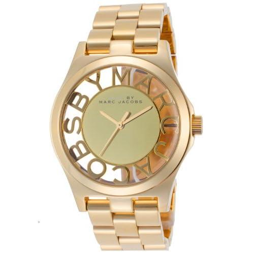 [マークバイマークジェイコブス] MARC BY MARC JACOBS 腕時計 Henry Skeleton ヘンリー スケルトン MBM3206 レディース [並行輸入品]
