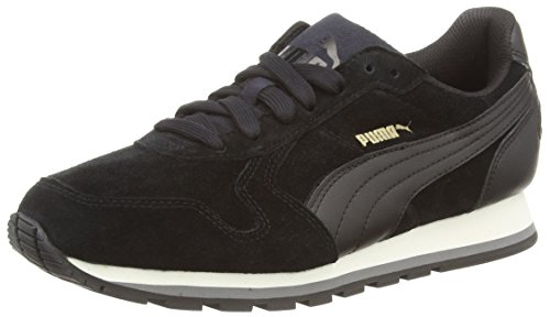 Puma ST Runner SD Sneakers Unisex, Nero (BLACK/BLACK 01BLACK/BLACK 01), 41 EU (7.5 UK)