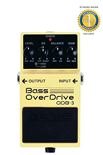Boss ODB-3 Bass Overdrive Pedal with 1 Year Free Extended Warranty (Bass Knob Boss compare prices)