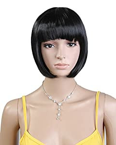 Sexy Western Women's Short Bob Straight Wig (Model: Jf010573) by Cool2day