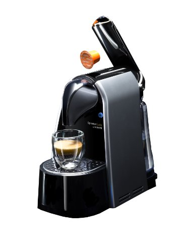 SpressoLuxe CAF-SP5 Single Serve Espresso Capsule Brewer, Compatible with SpressoLuxe and Nespresso Coffee Capsules