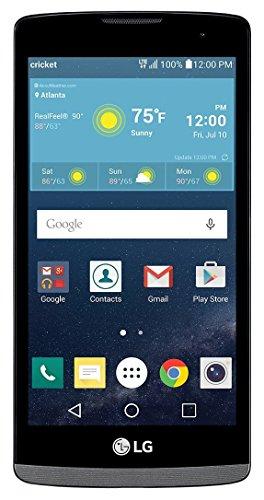 "LG Risio 4G LTE Cricket Wireless Titan 4.5"" display Android 5MP Camera"