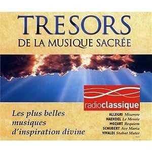 Trésors de la musique sacrée (Coffret 4 CD)