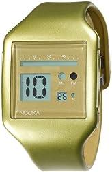Nooka Unisex ZUB-ZOO-GD-20 Zub Zoo Gold Polyurethane Watch