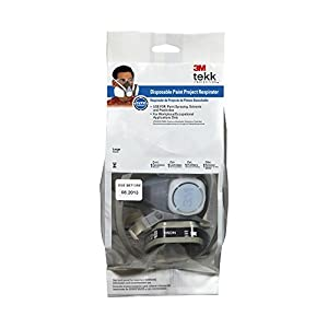 3M Tekk 53P71PC1-B Protection Solvent and Chemical Respirator, Large, 1-Pack