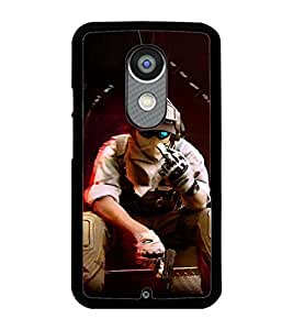 PRINTSWAG SHOOTER MAN Designer Back Cover Case for MOTOROLA MOTO X2