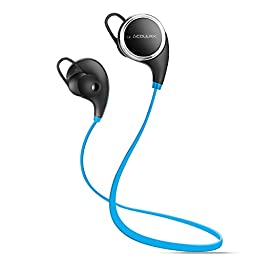 Bluetooth Headphones COULAX QY8 Bluetooth V4.1 Headset In-Ear Wireless Headphones Noise Cancelling Bluetooth Earphones Sweatproof Running Bluetooth Earbuds for iphone 6s Samsung Galaxy S7 Edge