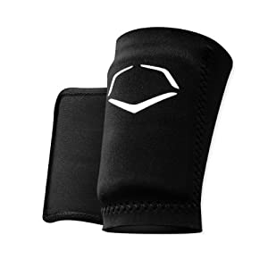 EvoShield Protective Baseball Wrist Guard,Black,Medium